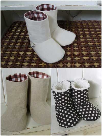Charlie Baby Boots Sewing Pattern Download From E