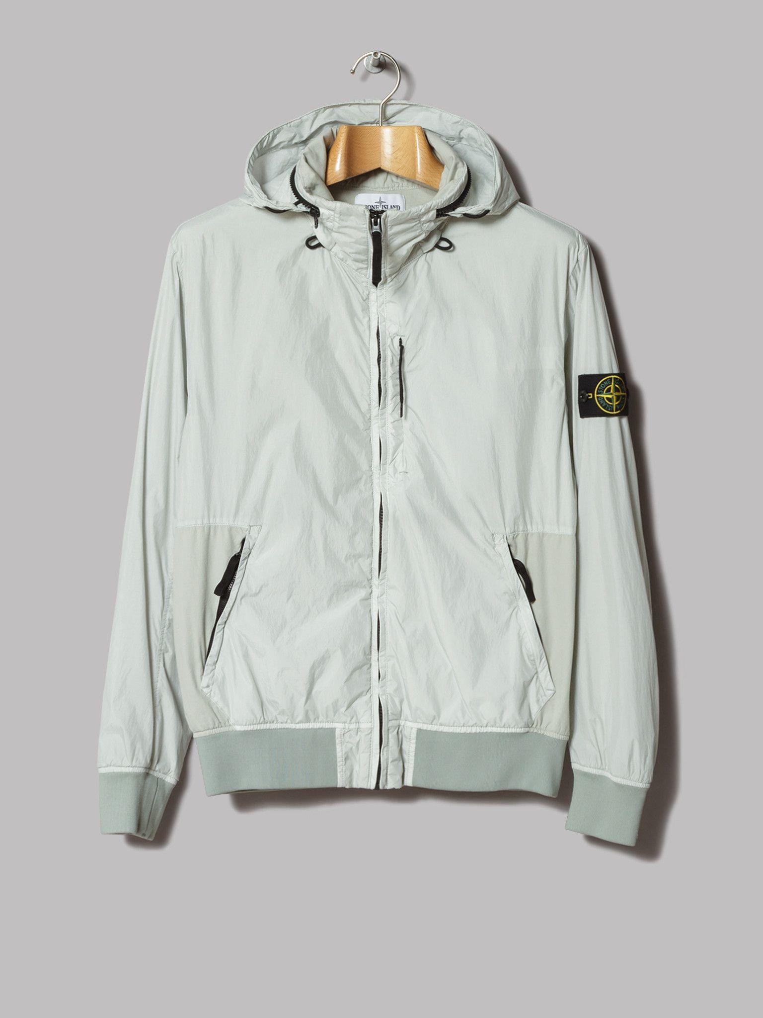 Stone Island Crinkle Reps NY Jacket (Grigio Perla) | outdoor ...