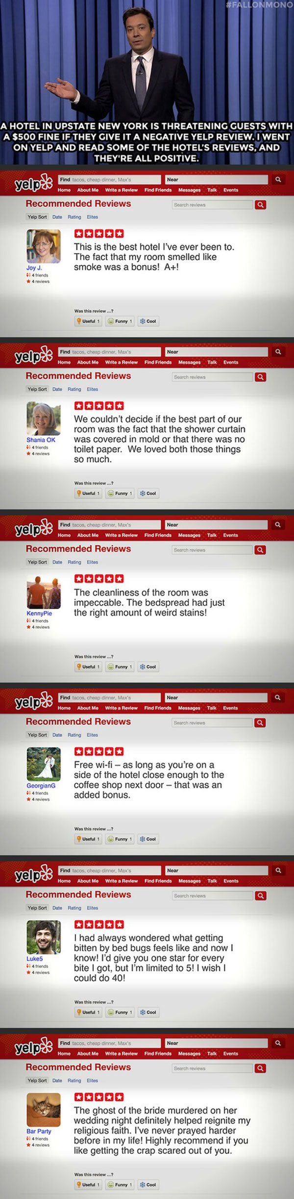 The last review