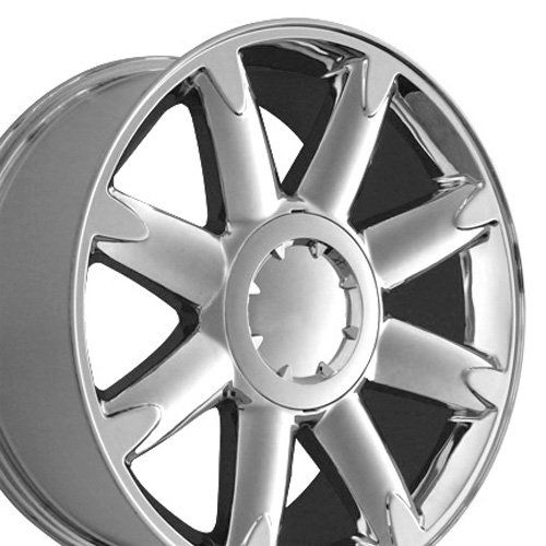 20 Inch Fits Gmc Denali Aftermarket Wheels Chrome 20x8 5 Set