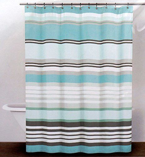 Dkny Fabric Shower Curtain Urban Lines Reef Blue Dkny Fabric Shower Curtains Black Shower Curtains Shower Curtain