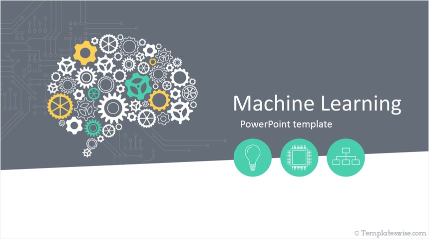 Machine Learning Powerpoint Template Powerpoint Templates Powerpoint Design Templates Machine Learning