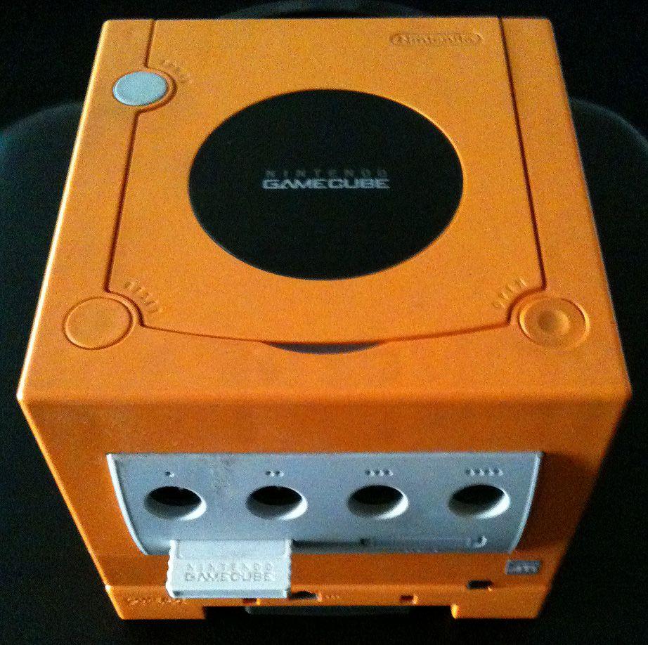 Orange GameCube, super rare and even rarer if you have a