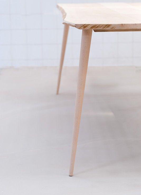 Stik Pieds De Table Table Bois Massif Design De Table