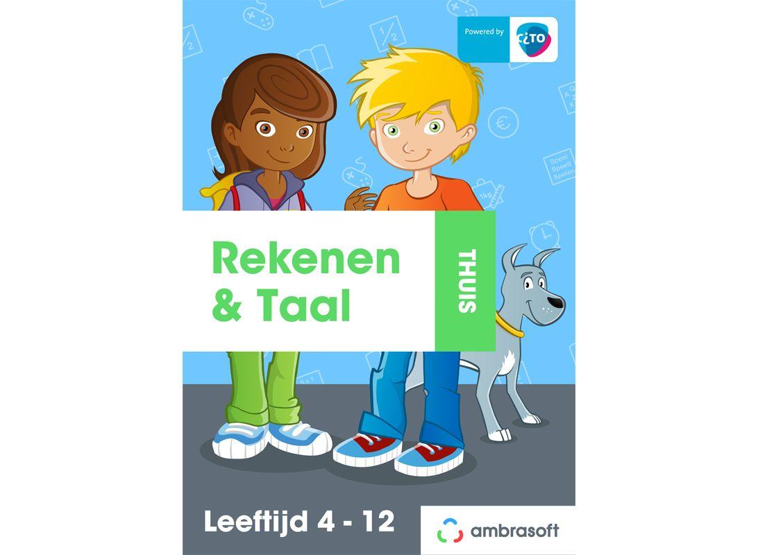 Ambrasoft Rekenen & Taal Thuis - hét online oefenpakket waarmee uw kind thuis oefent met de lesstof van school.