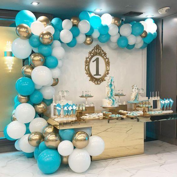 8 Ideas De Baloes Turquesa Decoracion Fiesta Cumpleaños Decoracion De Cumpleaños Decoración De Fiesta