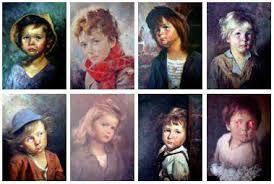 Gratende Barn Maleri Google Sok
