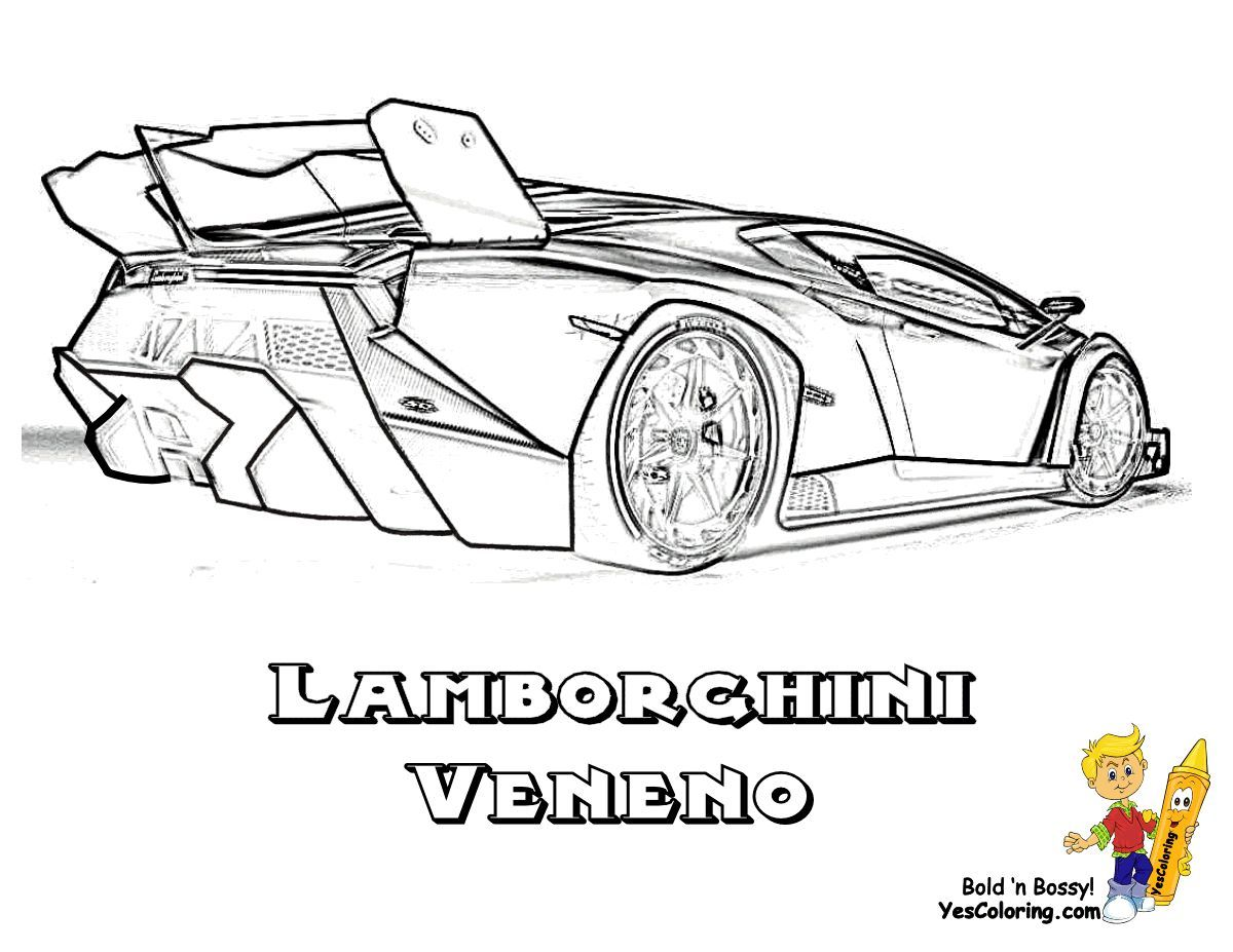 Ruggedlamborghini Coloring Pages Lamborghini Pictures Cars