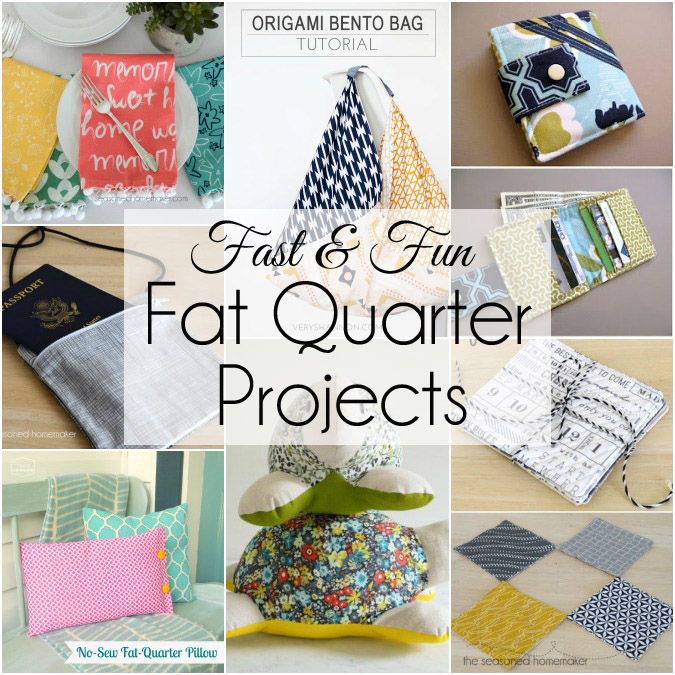 Things to Make with Fat Quarters | Costura y Tejido