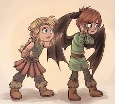 DreamWorks Dragons Riders of Berk | Hiccup and Astrid - DreamWorks Dragons: Riders of Berk Fan Art ...