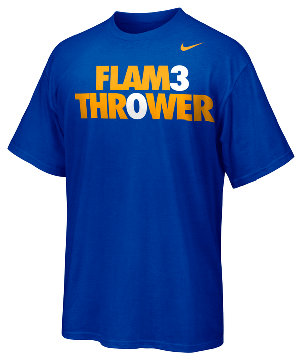 The Stephen Curry FLAM3 THR0WER Tee is here. b4dfb43e5