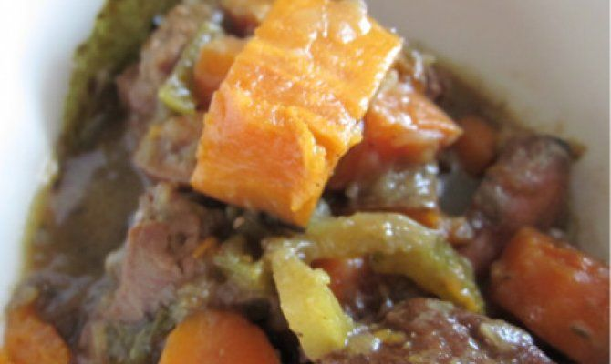 Sweet Potato and Lamb Stew Recipe