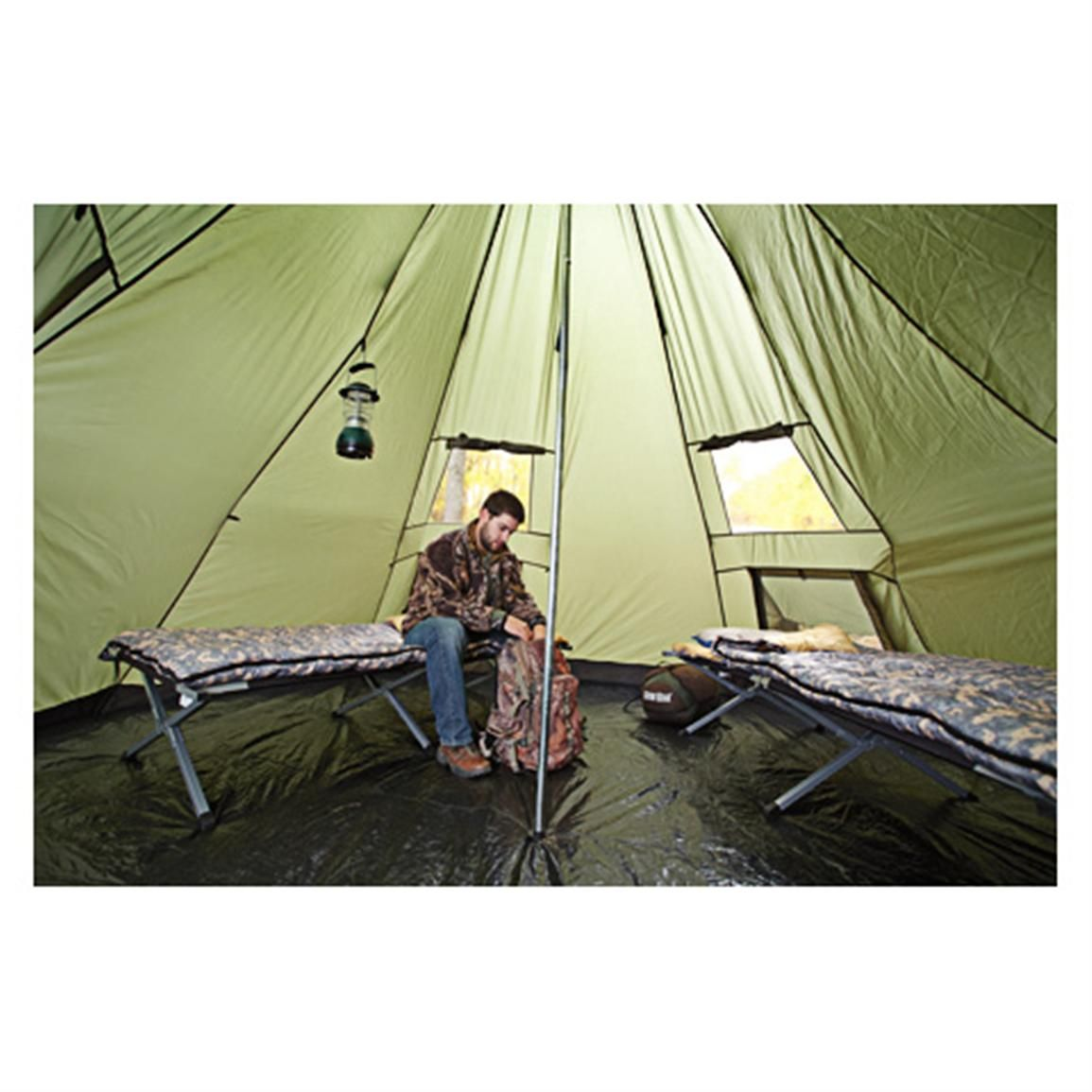 Guide Gear Deluxe Teepee Tent 14u0027 x 14u0027  sc 1 st  Pinterest & Guide Gear Deluxe Teepee Tent 14u0027 x 14u0027 | Teepee tent and Tents