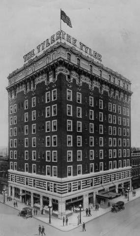 Tyler Hotel Louisville 3rd Jefferson Streets Kentucky 1920