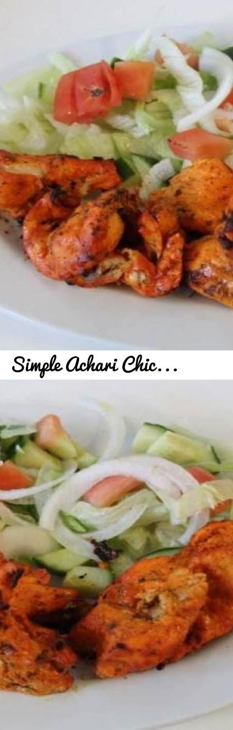 Simple achari chicken boti how to make chicken achari botichicken simple achari chicken boti how to make chicken achari botichicken recipe by cooking sehar syed tags cooking with asifa urdu recipes hindi forumfinder Choice Image