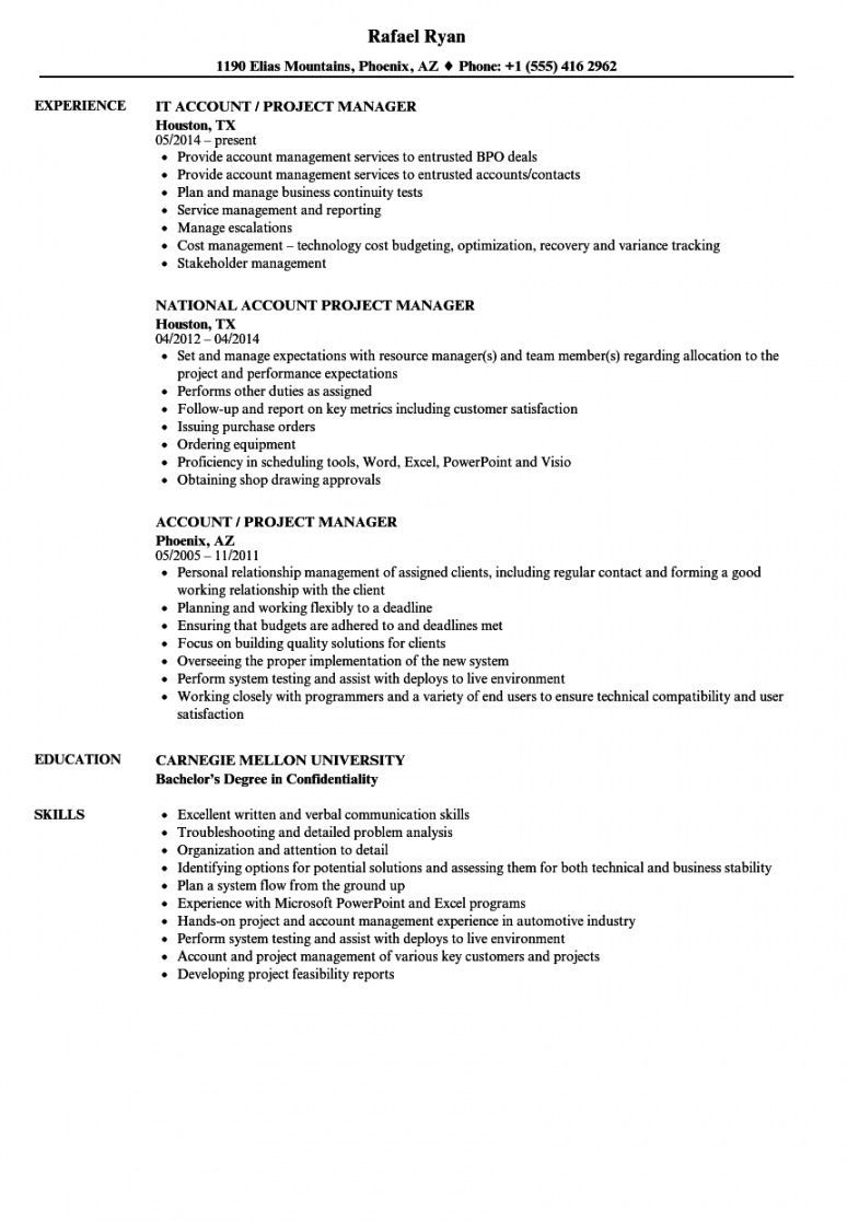 Browse Our Example Of National Account Manager Job Description Template For Free Job Description Template Resume Examples Manager Resume