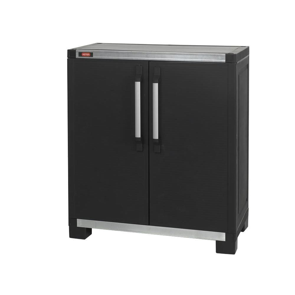 Keter Wide Xl 35 In X 39 In Freestanding Plastic Utility Base