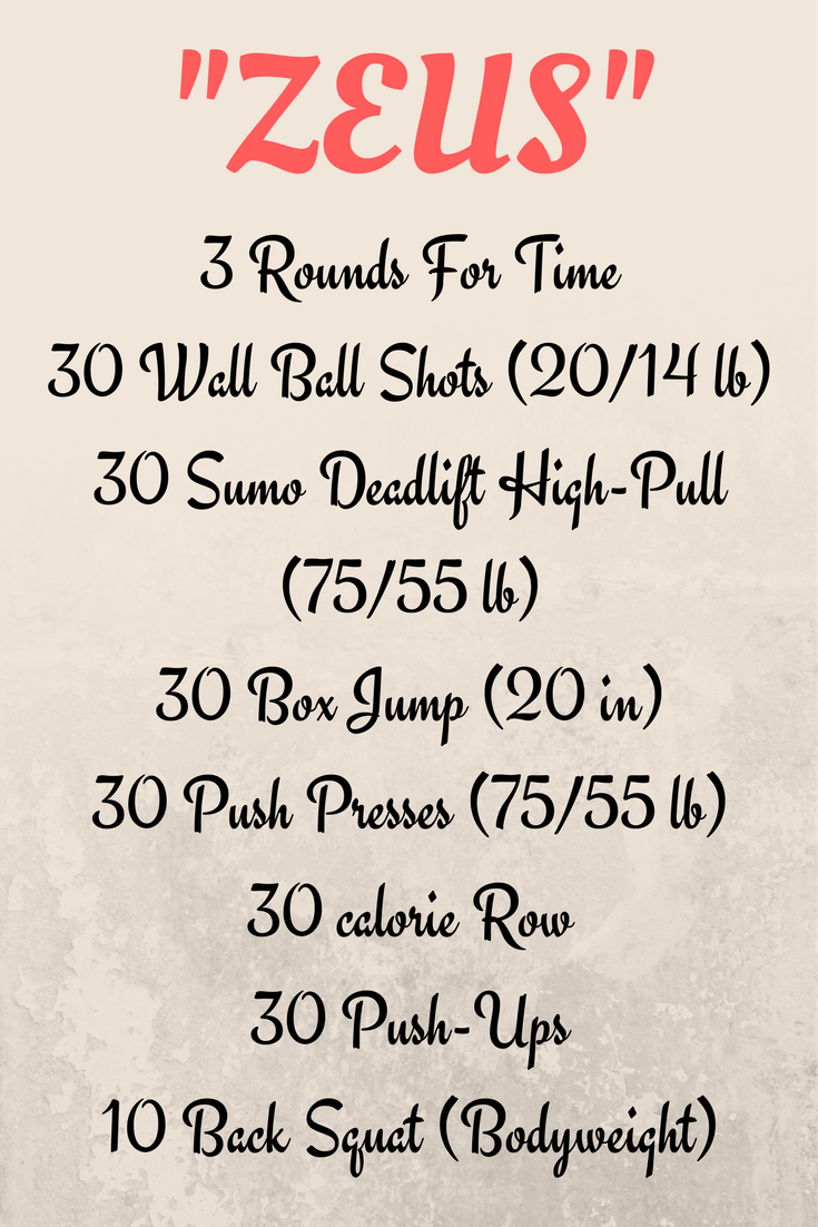 Crossfit Workout Template