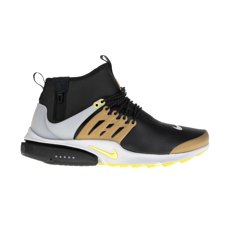 23869cef878 NIKE – Ανδρικά αθλητικά παπούτσια AIR PRESTO MID UTILITY μαύρα-χρυσά Ανδρικά /Παπούτσια/
