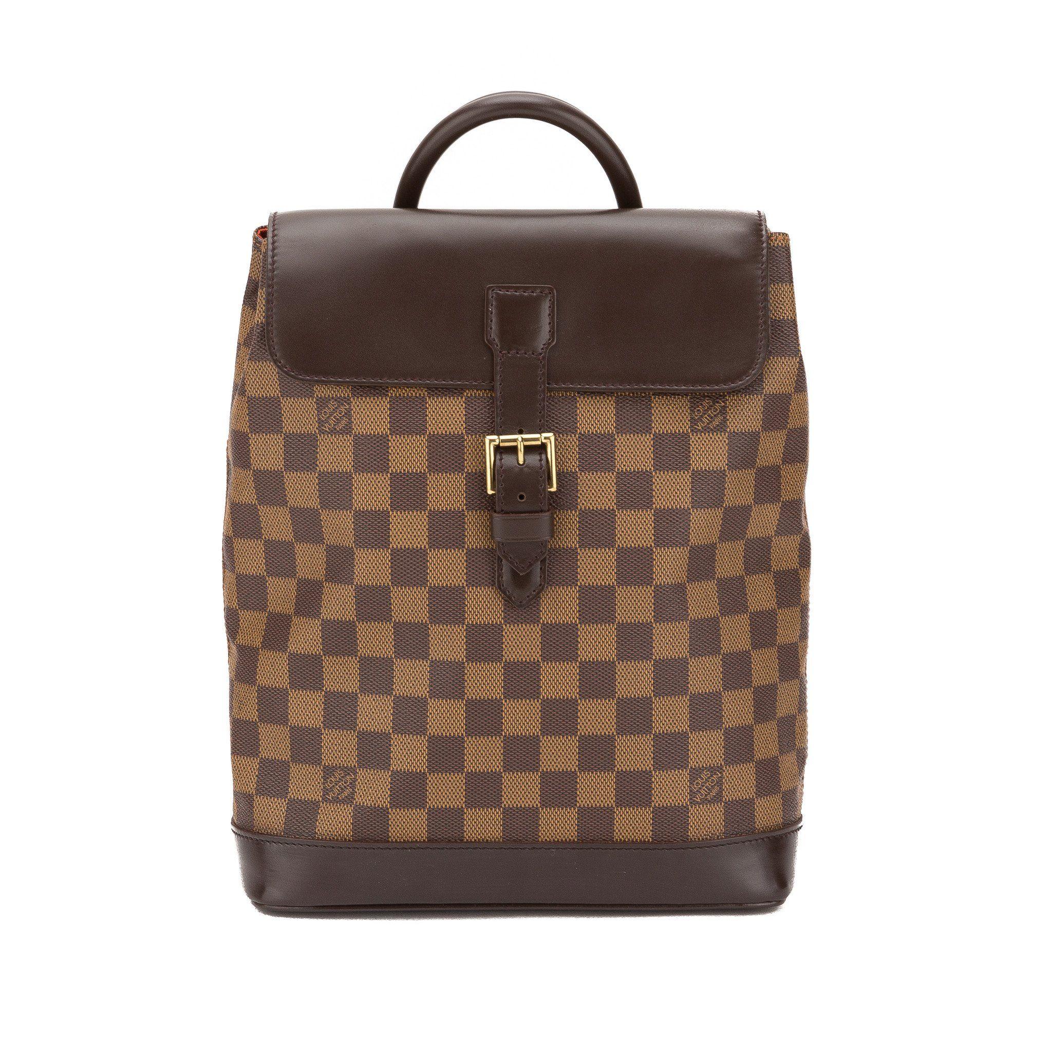 c5b1f0530903 Louis Vuitton Damier Ebene Soho Backpack (Pre Owned)