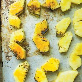 Charred Pineapple Agua Fresca