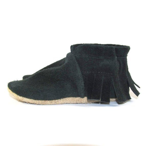 d68cb28200d15 Soft Sole, Eco Friendly, GREEN Leather Baby Shoes, Moccs, Moccasins ...
