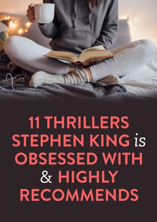 11 Books That Even Stephen King Was Scared