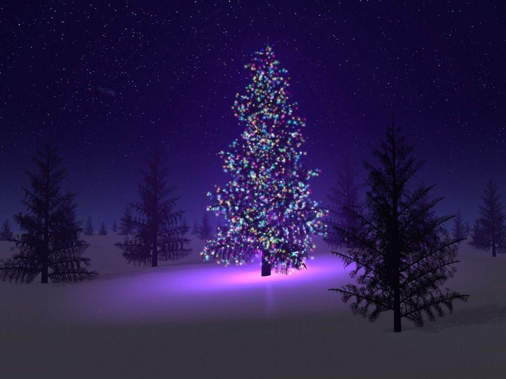 Silent Night Folks Purple Christmas Tree Purple Christmas Beautiful Christmas Trees
