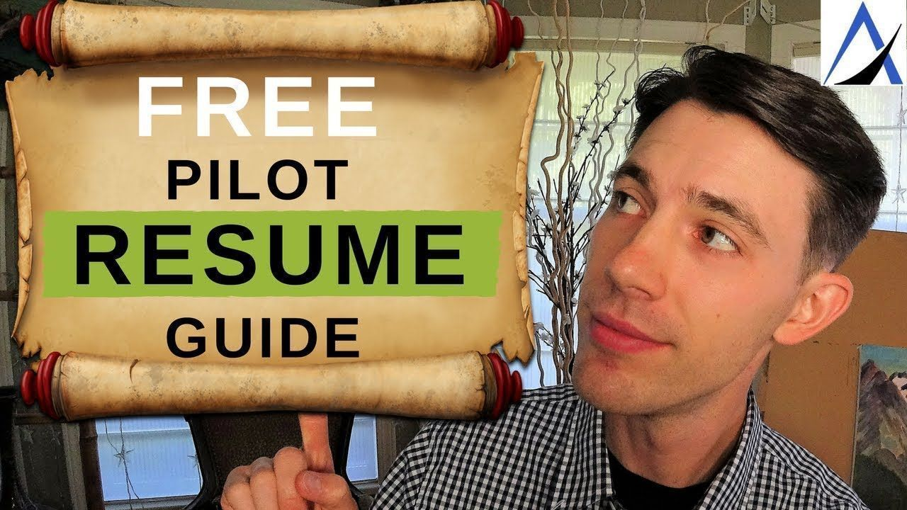 How to write a pilot resume resume tips resume tips