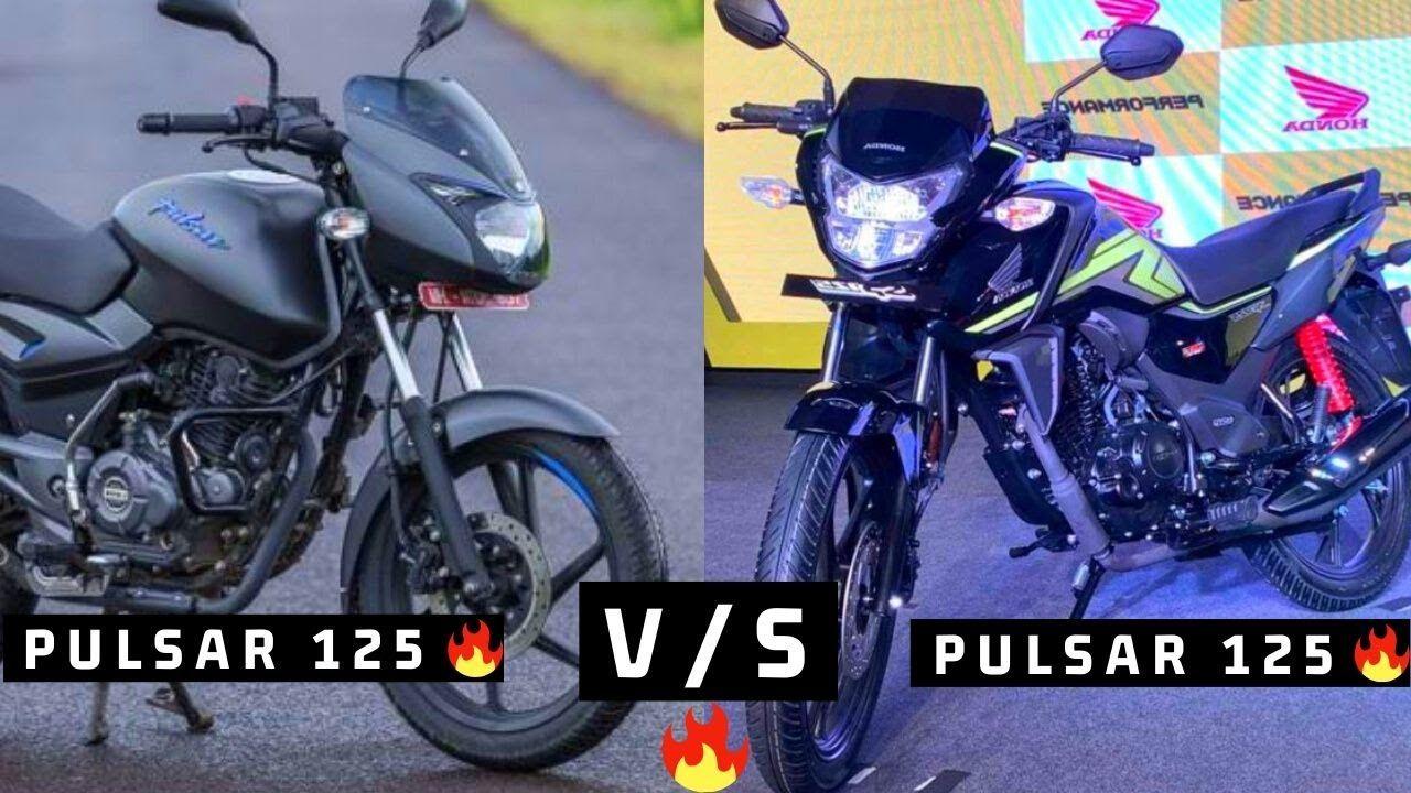 Honda Cb Shine Sp 125 Bs6 Vs Bajaj Pulsar 125 Full Comparison