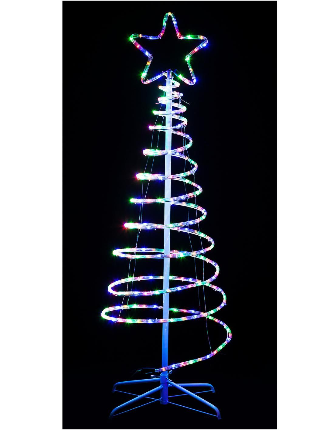 Spiral rope light indooroutdoor christmas tree 150 cma cool spiral rope light indooroutdoor christmas tree 150 cma cool contemporary take on traditional aloadofball Choice Image