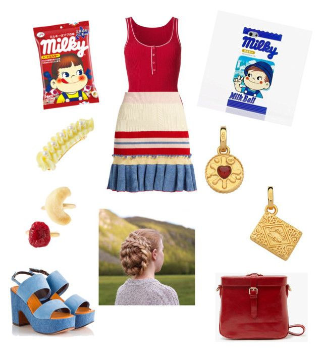 """""""Milky Treat Inspired"""" by savannah-foster-330 on Polyvore featuring Misha Nonoo, Alexander McQueen, Links of London and Robert Clergerie"""