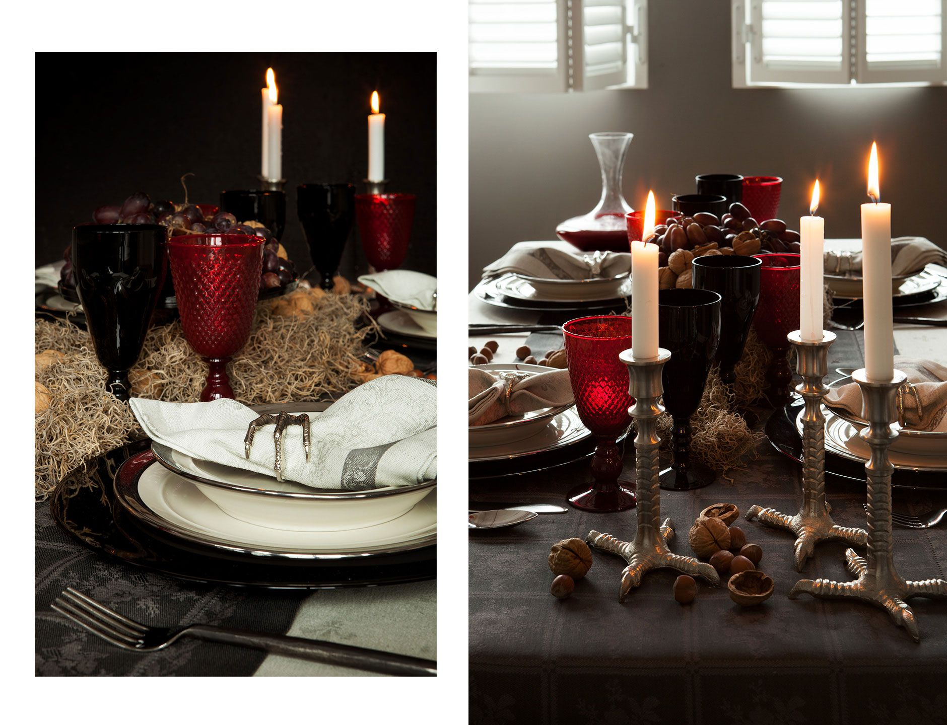 Halloween Decoration Interieur Zara Home Design Love The Bird Claws As Napkin Rings And The