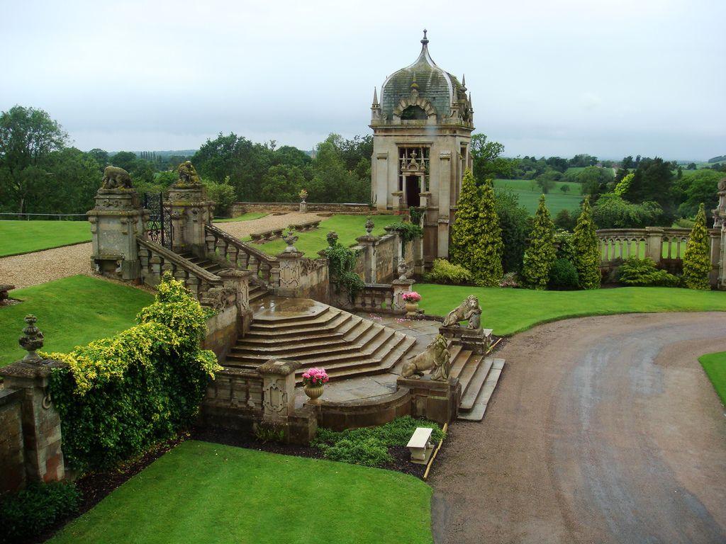 Side yard area/gardens | English garden design, Manor ...