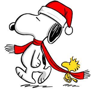 Christmas Snoopy Png 320 296 Pixels