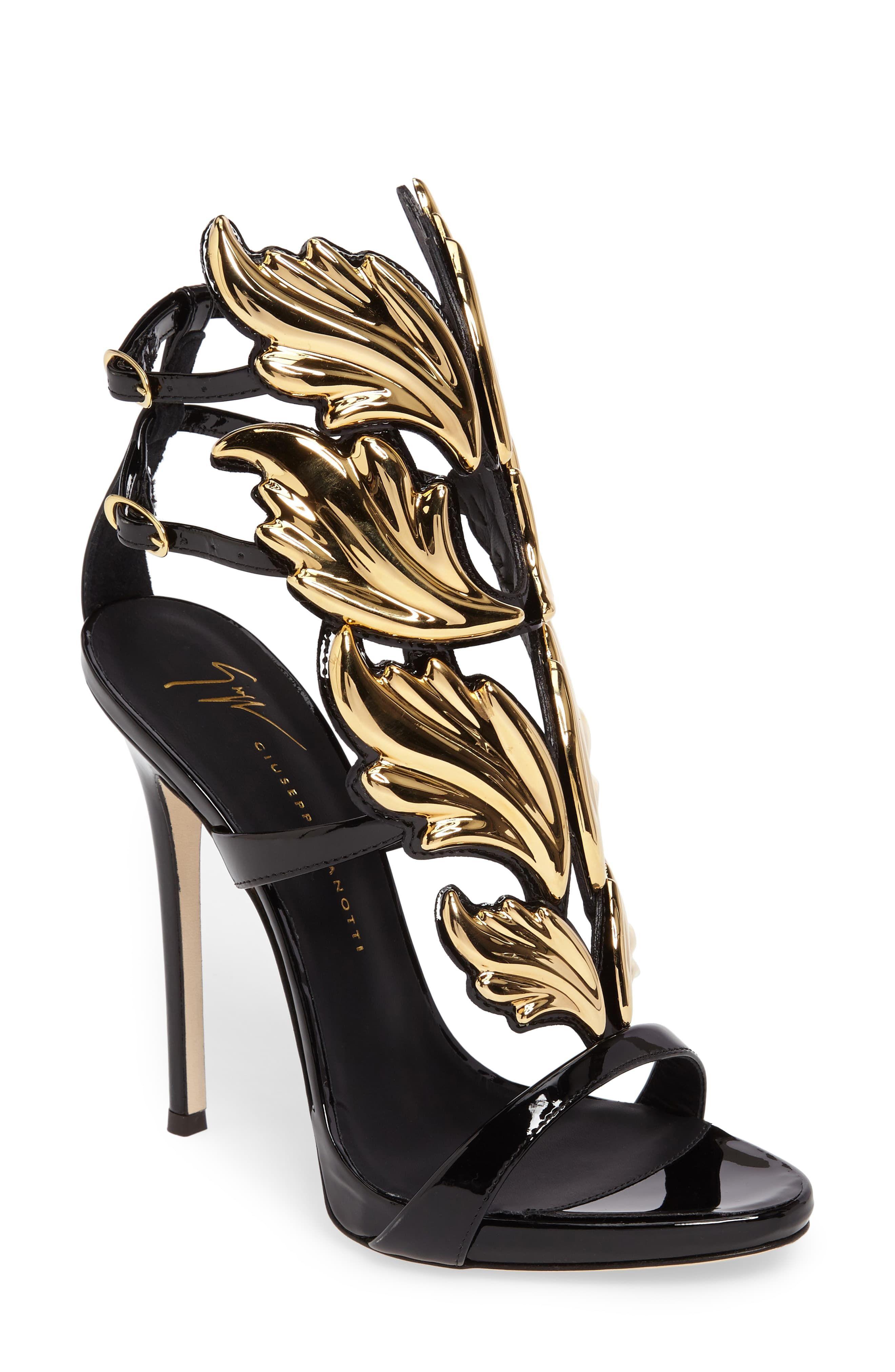 504e6e08f Women's Giuseppe Zanotti Cruel Wing Sandal, Size 8 M - Black ...