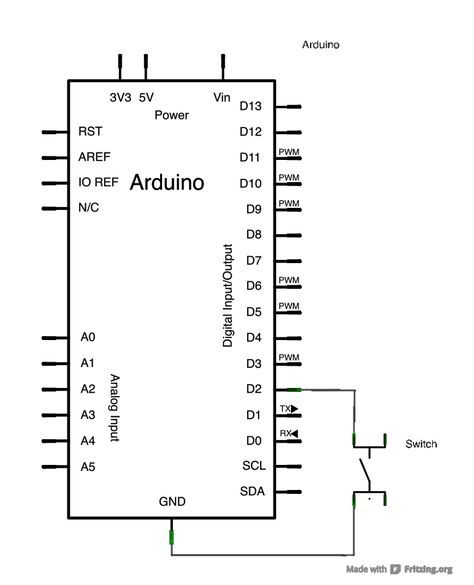 Arduino Midi Controller Tutorial: Schematic And Wiring Diagram