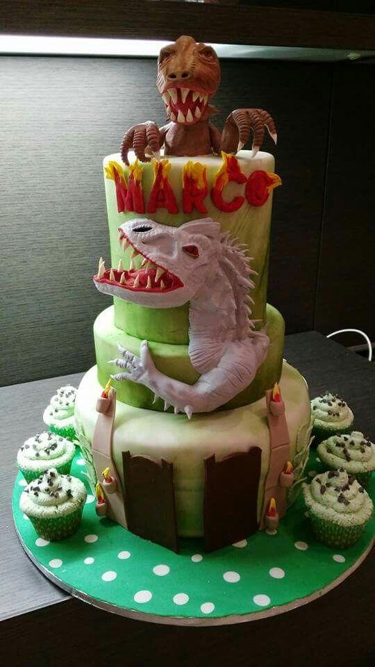 Torta dinosauri