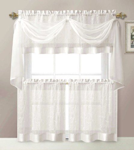 Fresh Kitchen Tier And Valance Sets