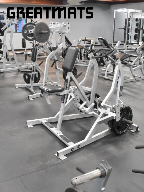 4x6 Ft Fitness 1 2 Inch Gym Floor Mat Black Gym Flooring Rubber Rubber Floor Tiles Rubber Floor Mats