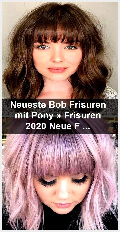 Nieuwste Bob Haarstijlen Met Pony Kapsels 2020 Nieuwe Kapsels En
