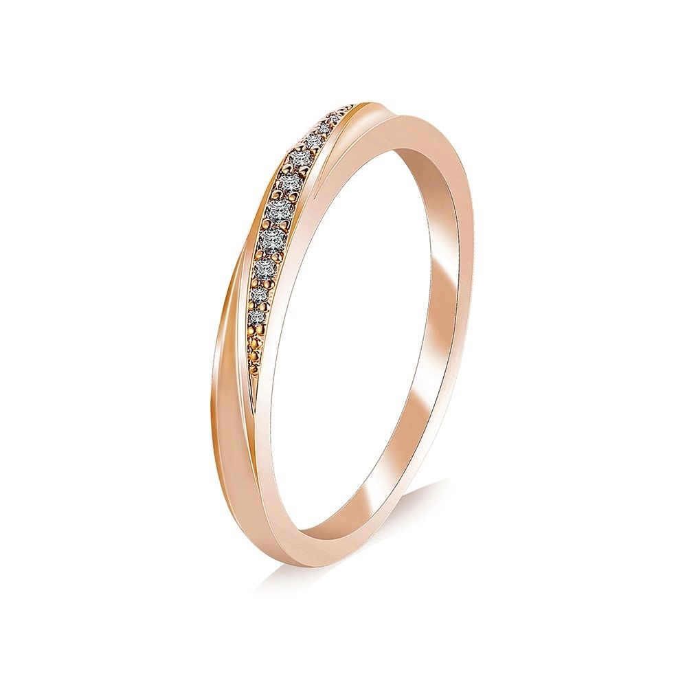 Simple Rose Gold Ring In 2020 Rose Gold Ring Simple Wedding Rings Rose Gold Gold Ring Price