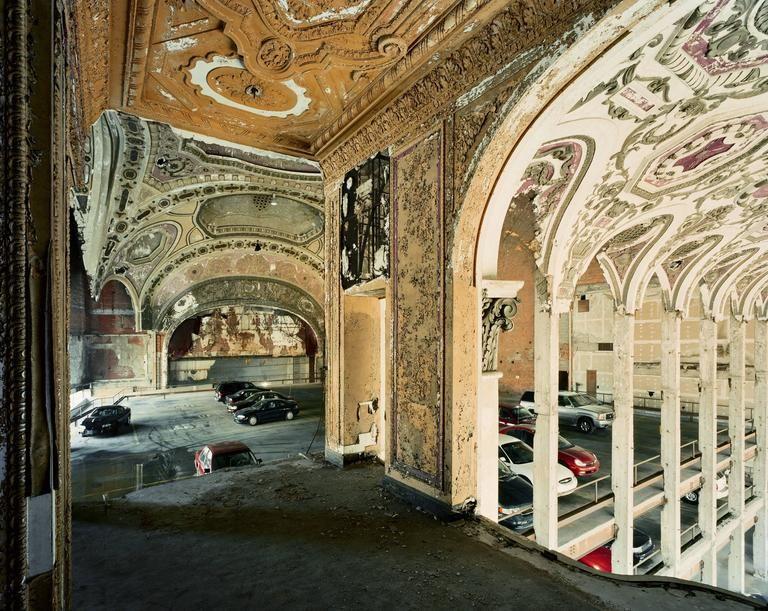 Michigan Theater Detroit Parking Garage Architecture Michigan