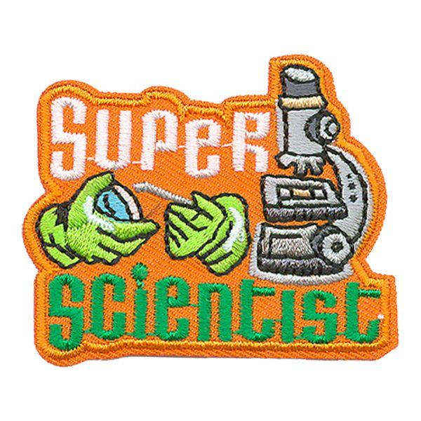 Super Scientist fun patch. Iron-on! #6883747 | $1.50
