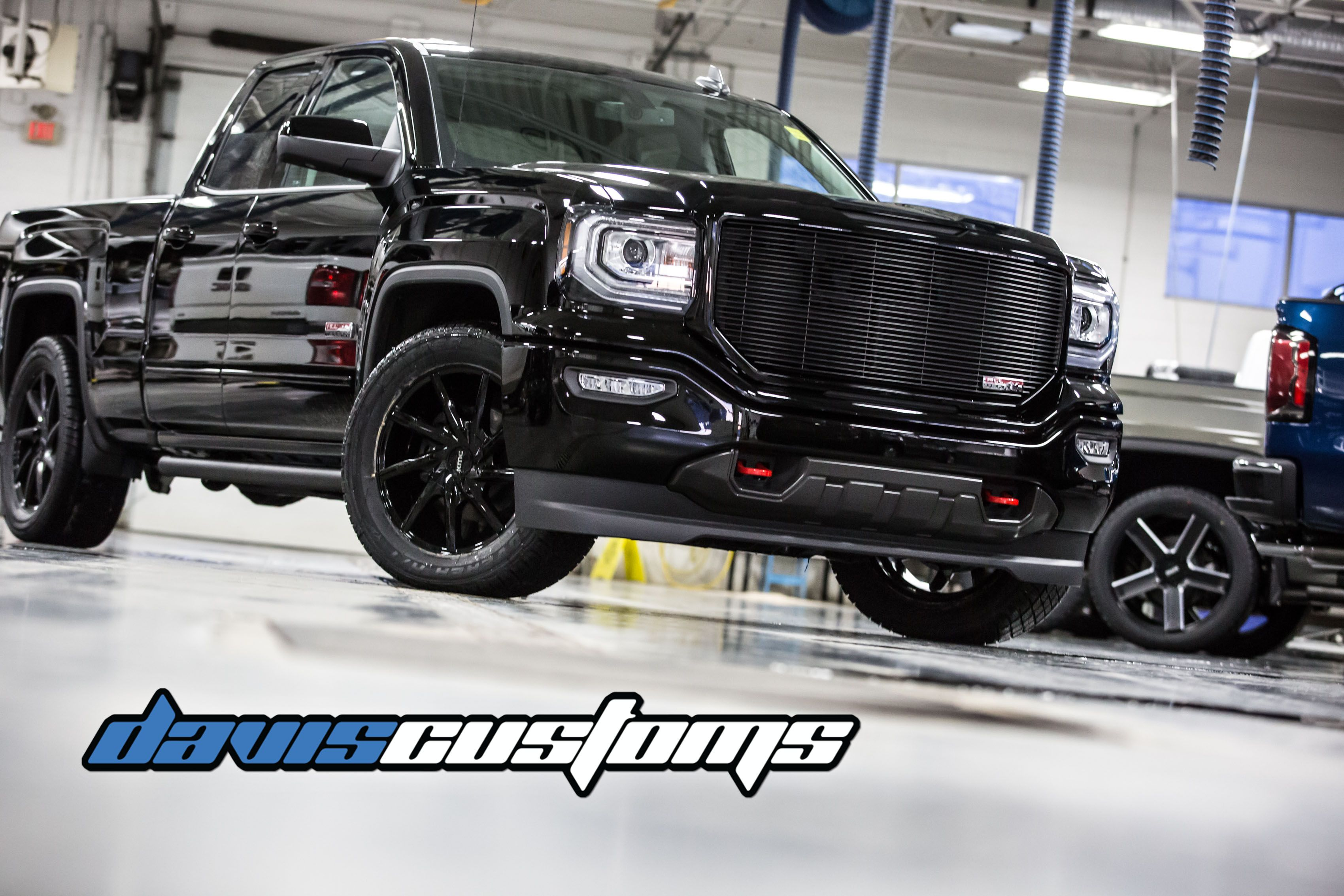 Davis Customs Truck 2018 Gmc Sierra Lowered Truck Buick Gmc