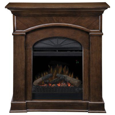 Dimplex Bronte Traditional Fireplace Nutmeg 20 In Model Dfp20