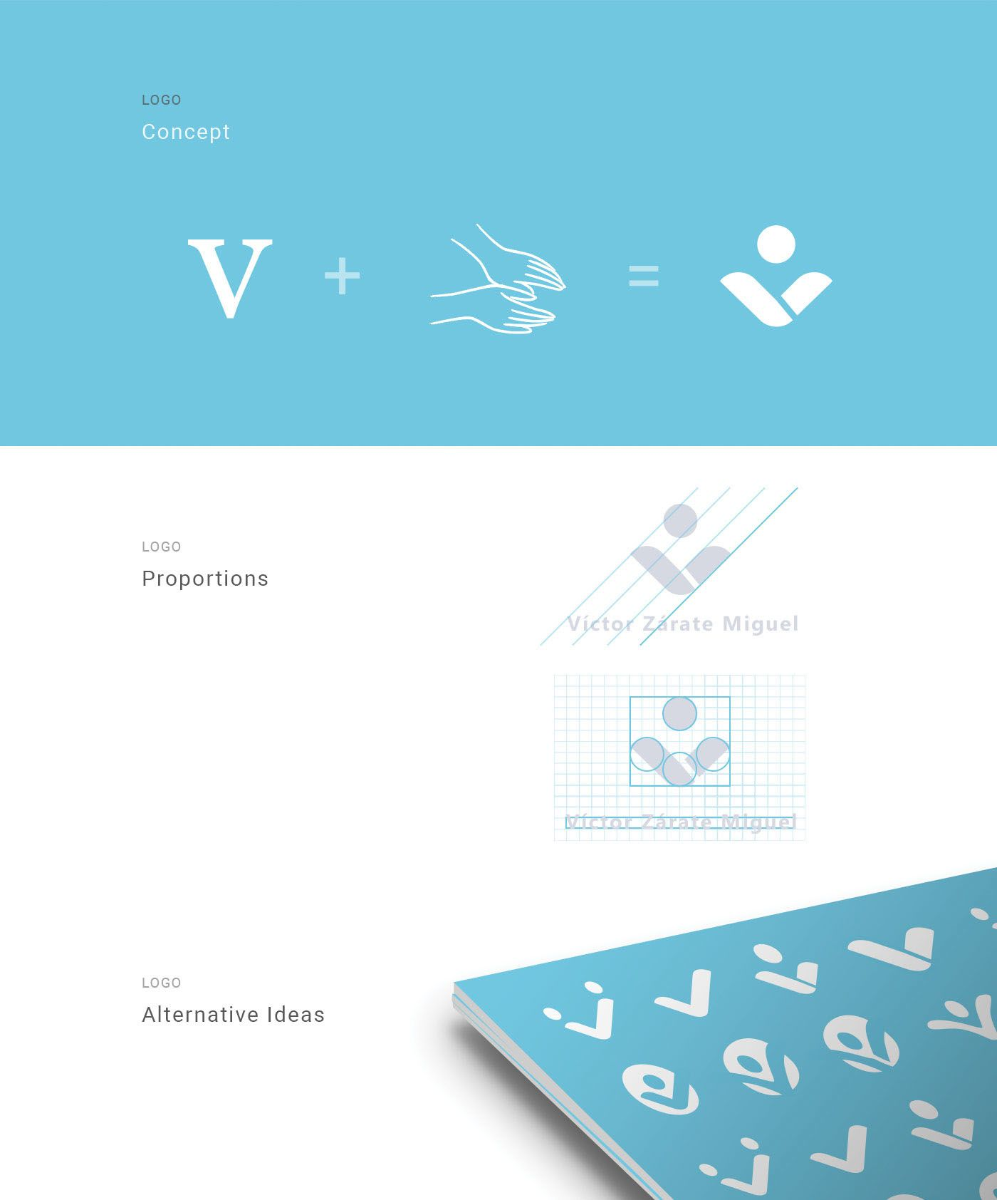 physiotherapy business card logo design 2 on behance