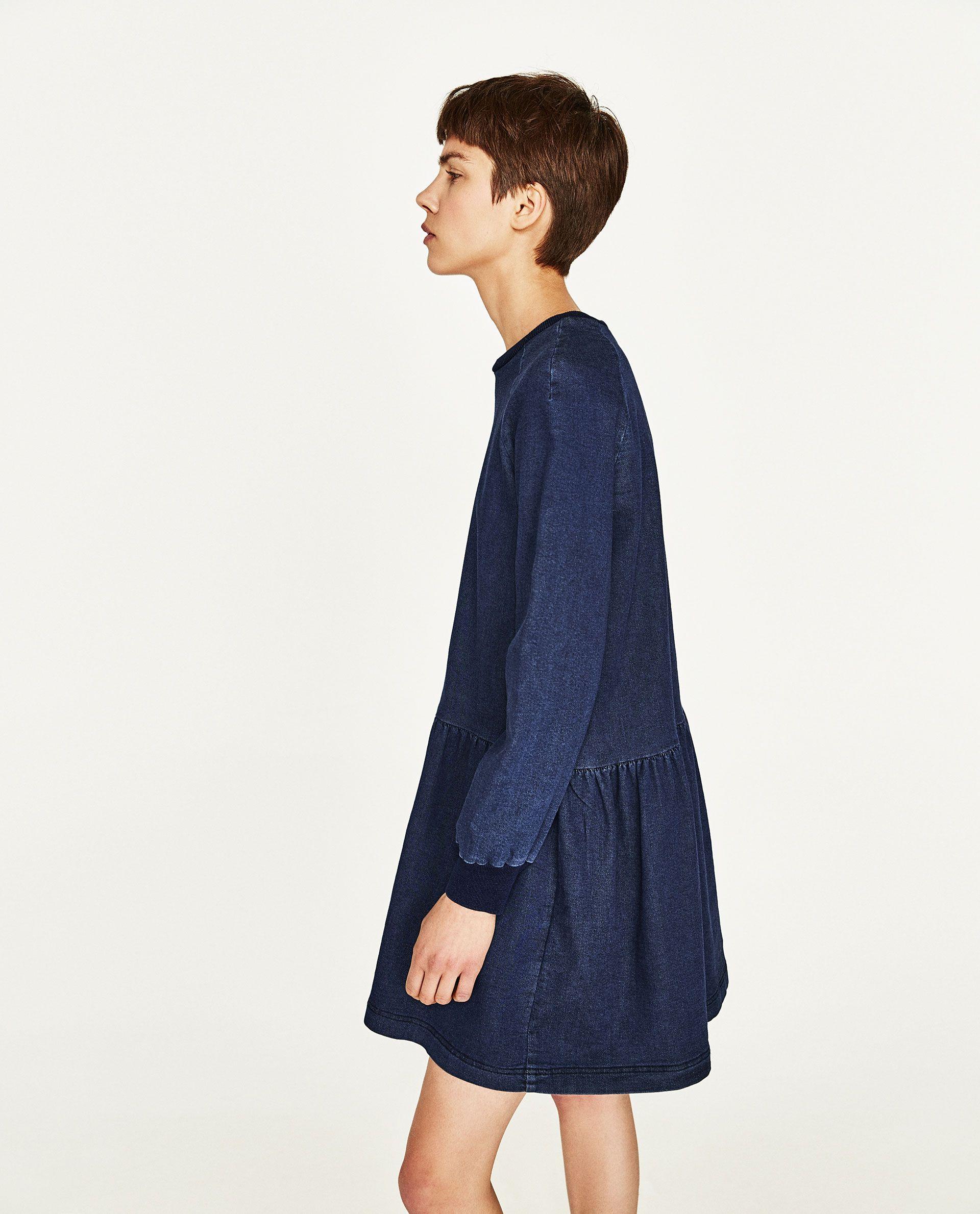LONG SLEEVE DRESS   Zara mode, Bekleidungsstile ...
