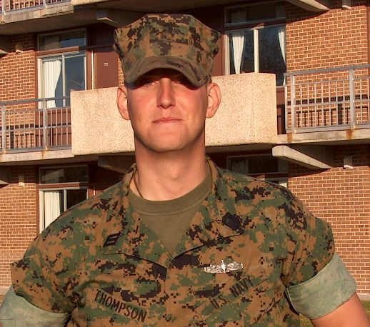 Navy Hospital Corpsman 3rd Class Christopher W. Thompson Died ...