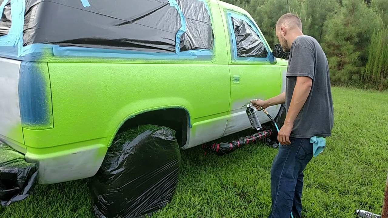 U Pol Raptor Liner paint works awesome Truck bed liner